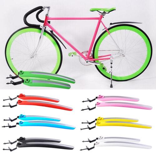 Cycling Mountain Bike Bicycle Mudguard Splash Front/&Rear Fender Mud Guard Set