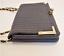 thumbnail 4 - Bebe Black Crossbody Purse Gold Hardware Handbag
