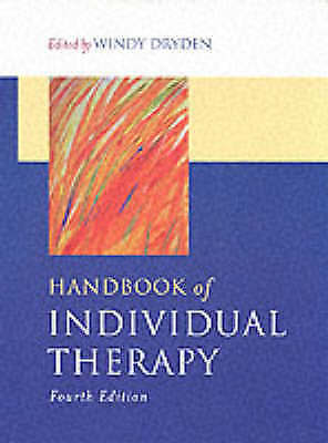 1 of 1 - Handbook of Individual Therapy-ExLibrary