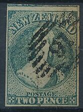 [36226] New Zealand 1863 Good classical stamp Very Fine used