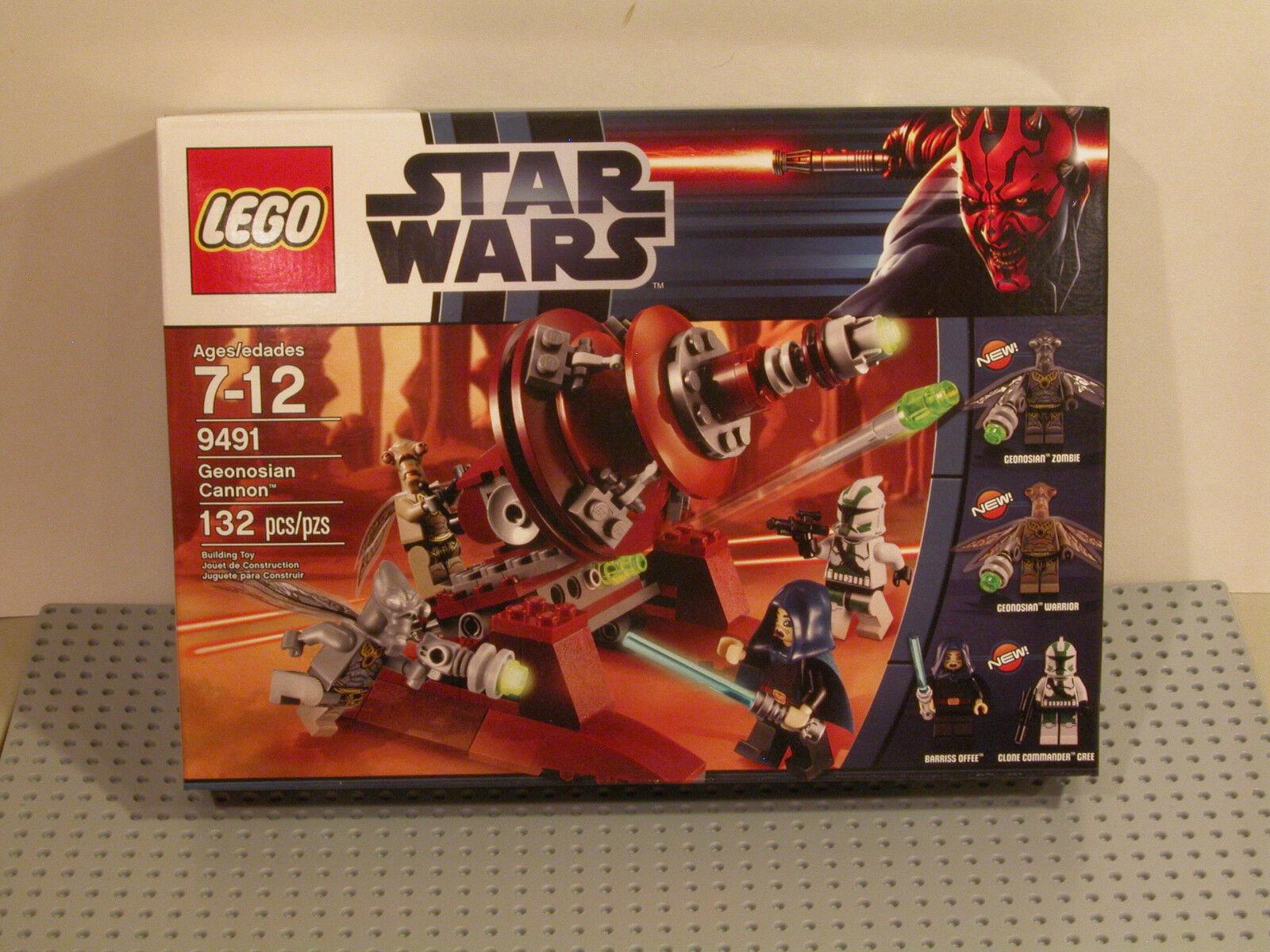 LEGO Star Wars 9491 Geonosian Cannon Cannon Cannon NEW MISB FAST FREE SHIPPING   8c5e92