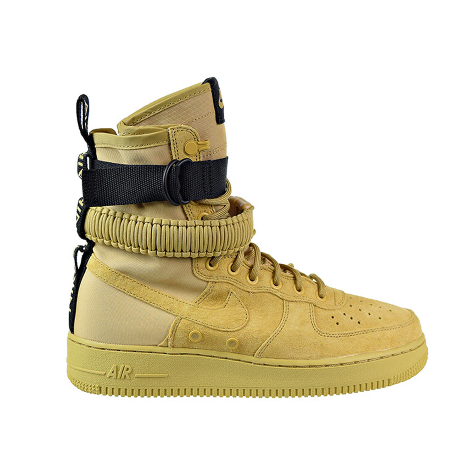 Nike SF AF1 Men's Boots Club gold Club gold Black 864024-700