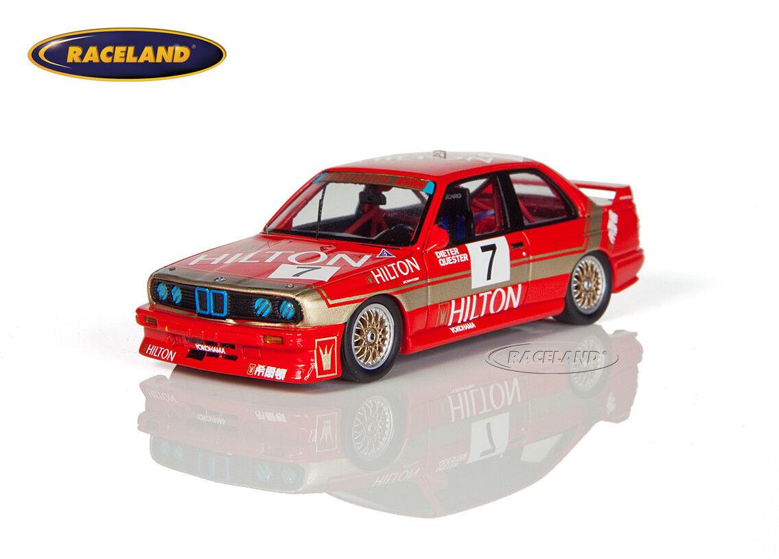 BMW m3 Hilton équipe Boulette Macao GP Guia Race 1987 Dieter Quester, SPARK 1 43