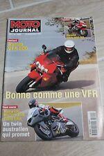 MOTO JOURNAL N°1300 YAMAHA XJ 600 DIVERSION, GRAND PRIX ULSTER, JOËL SMETS 1997