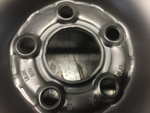 Stahlfelge VW ET38 6x15
