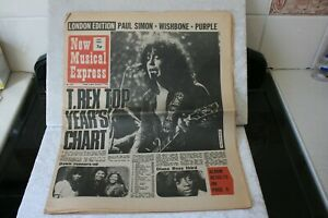 New-Musical-Express-No1300-January-1st-1972-Newspaper