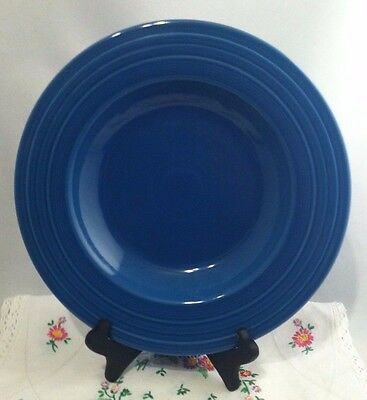 """Fiesta Ware LAPIS 12/"""" RIMMED PASTA BOWL NEW MADE IN THE USA"""