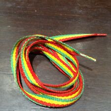 e5e6cd24edb4 Flat Boot Rasta Reggae Shoe Laces - a pair 36.5