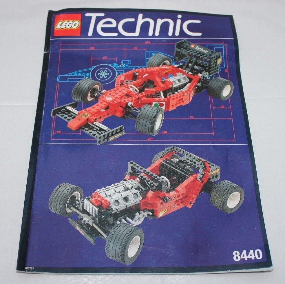 LEGO Technic 8440 Formula Flash Formel 1 Rennwagen OVP Anleitung