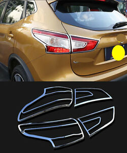 Chrome Rear Tail Light Lamp Cover Trim For 2014 2018