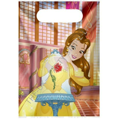 Disney BEAUTY AND THE BEAST PARTY LOOT BAGS Birthday Party Supplies Girls Gift