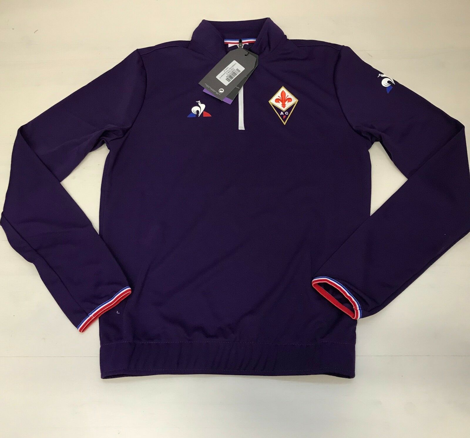 3660 Le Coq Sportif Fiorentina Sudadera Entrenamiento Entrenamiento Entrenamiento Training Sweat Jr Niño dc99e8