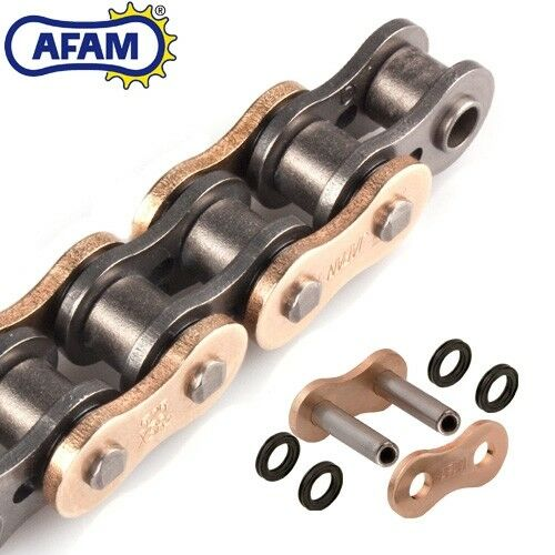 AFAM Kette KTM Adventure 990 Bj.2007  XS-Ring 525XSR2-G gold//schwarz Niet