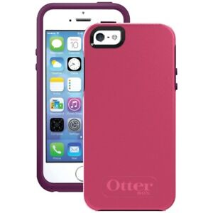 new styles 53d69 e2ed7 Details about OtterBox Symmetry Series Case for iPhone SE/5s/5 - Crushed  Damson
