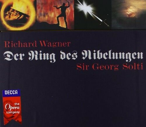 Sir Georg Solti - Der Ring Des Nibelungen [New CD] With DVD