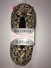 ba027a6b440 item 3 Women s Ballerina Slippers Socks Soft Polyester Cheetah Zebra Leopard  Print NEW -Women s Ballerina Slippers Socks Soft Polyester Cheetah Zebra ...