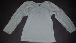 T-shirt-maillot-manches-longues-PETIT-BATEAU-2-ans-24-mois-garcon-BON-ETAT