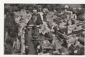 The-Model-Village-Bourton-On-The-Water-Gloucestershire-RP-Postcard-A676