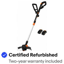 WORX WG170 GT 20V PowerShare CordlessTrimmer/Edger with 2 batteries