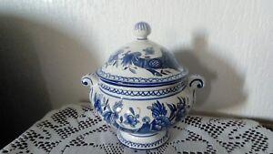 Petit Bouillon En Faience Corne D'abondance Decor Rouen Bhjd5zmp-08013104-120844003