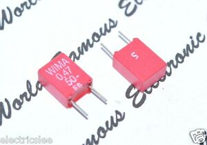 4pcs-WIMA-MKS2-0-47uF-0-47-F-470nF-50V-5-pitch-5mm-Capacitor-NOS