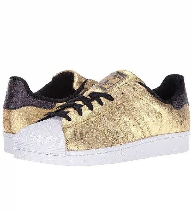 New Adidas Originals gold Metallic AQ4702 Men's SZ 10.5