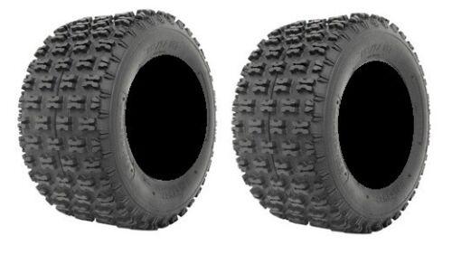 4ply ATV Tires Rear 20x11-10 Pair of ITP Holeshot 2
