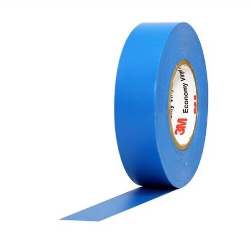 "3M Economy Vinyl Electrical Tape 1400C Blue 3//4/"" x 60/' x 7 mil"