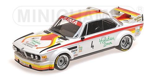 BMW 3.0 CSL Juma Tuning GP Nurburgring 1976   4 1 18 Minichamps NOUVEAU & NEUF dans sa boîte