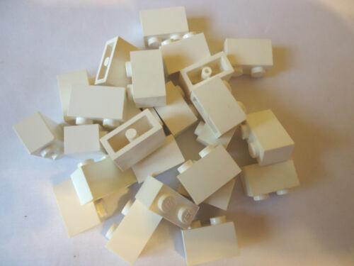 LEGO 1 x 2 WHITE BRICK PART 3004 x 25