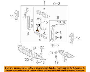 KIA OEM 11-16 Optima Radiator Support-Mount Bracket 972812T000
