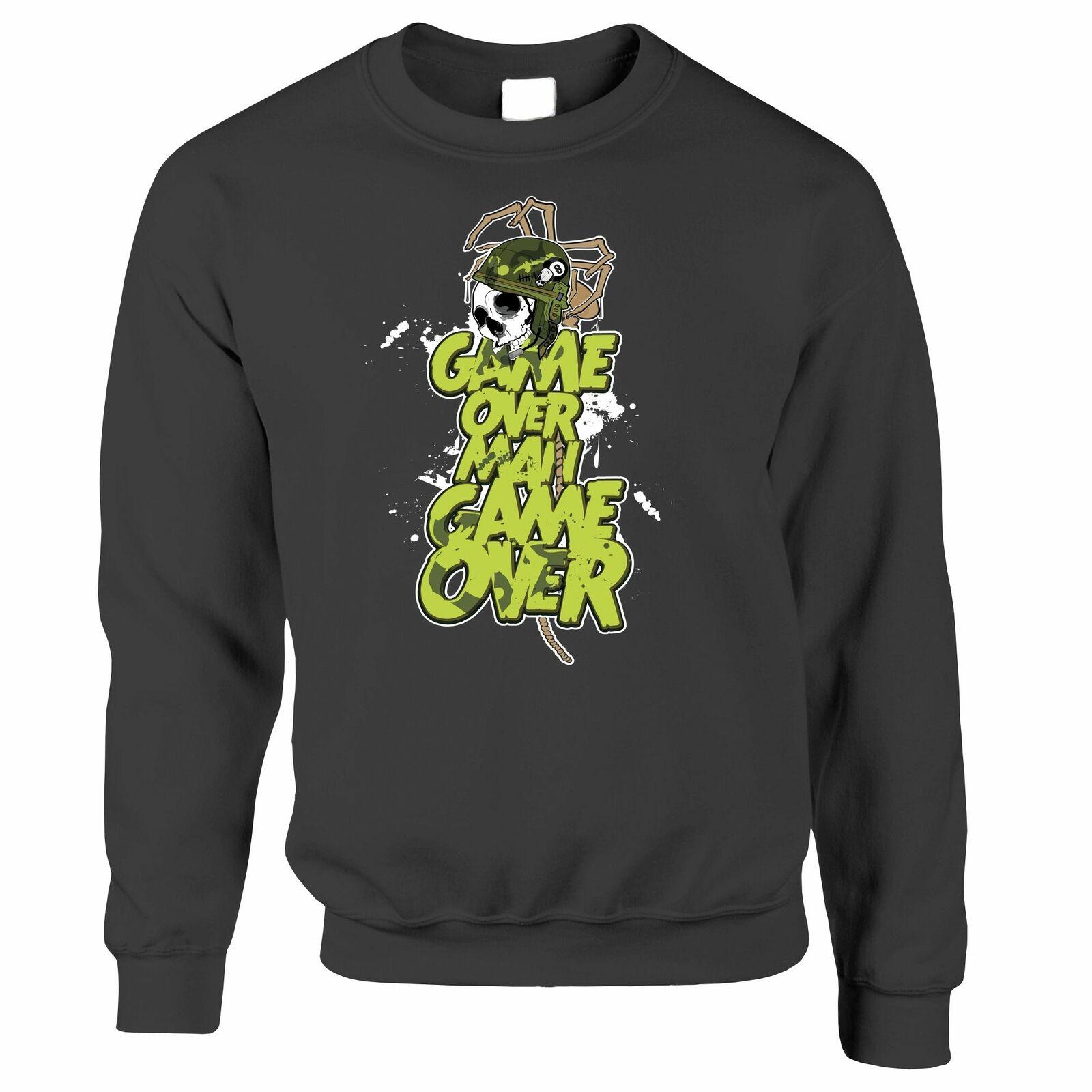 wellcoda Alligator Beast Mens Sweatshirt Crocodile Casual Jumper