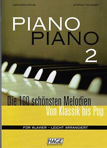 Klavier-Noten-PIANO-PIANO-Band-2-Ausgabe-LEICHT-Hage-leicht-leMittel
