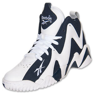 bf9f9f8a412 NEW REEBOK KAMIKAZE II 2 MID BLUE LIMITED EDITION SHAWN KEMP MENS ...