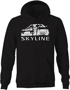 Sweatshirt-Nissan-Skyline-R34-AWD-Turbo-JDM-GTR