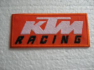 Écusson Patch Tuning Ktm Racing Moto Sport Motard Autosport Fx Gt Sport Automobile-afficher Le Titre D'origine