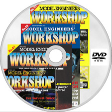 MODEL ENGINEERS WORKSHOP MAGAZINE issues 1-163 PDF format on 2 x DVD ROM