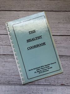 Vintage North Richland Hills Baptist Church Cookbook Fort Worth Texas Recipes