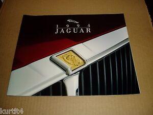 1994 Jaguar 28-page BIG SIZE Original Car Sales Brochure Catalog XJS XJ6 XJ12