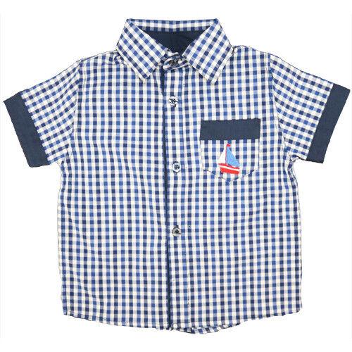 Mafana Enfants Garçons Shirt-VICHY mkshr 00 BNWT