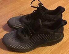 c80a9a3cc7444 Adidas Men s Alphabounce EM M Training Running Black Grey Mesh Size 9.5  (BY4263)