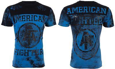 American Fighter AFFLICTION Mens T-Shirt CHARTER Athletic Biker Gym MMA UFC $40
