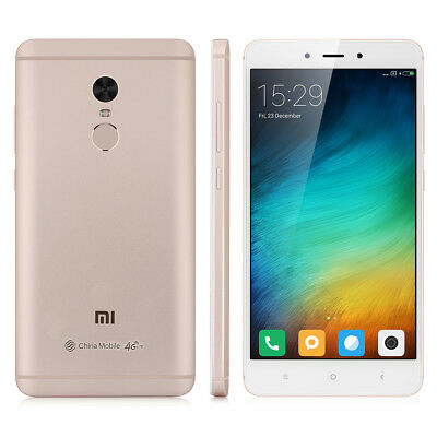 3+64GB DecaCore 5.5''XIAOMI Redmi Note 4 4G HelioX20 13MP 4100mA 2SIM Smartphone