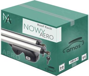 VOLVO V50 04-12 Aluminium Aero Roof Rack Bars Locking Cross Rails