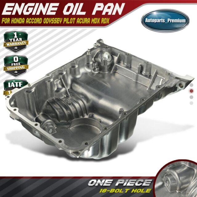 Engine Oil Pan Sump For Acura MDX RDX RL TL Honda Accord 3