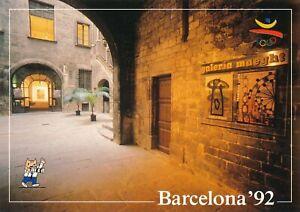 1992-Olympic-Games-Barcelona-original-postcard