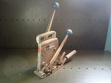 """Delta SSCNM Plastic Banding Strapping Tensioner Sealer Crimper 1/2"""" x .015-.025"""""""