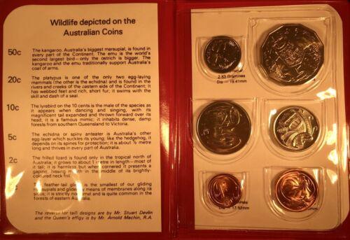 1981 Mint Set Australian Uncirculated Decimal Coin Could Suit PCGS?