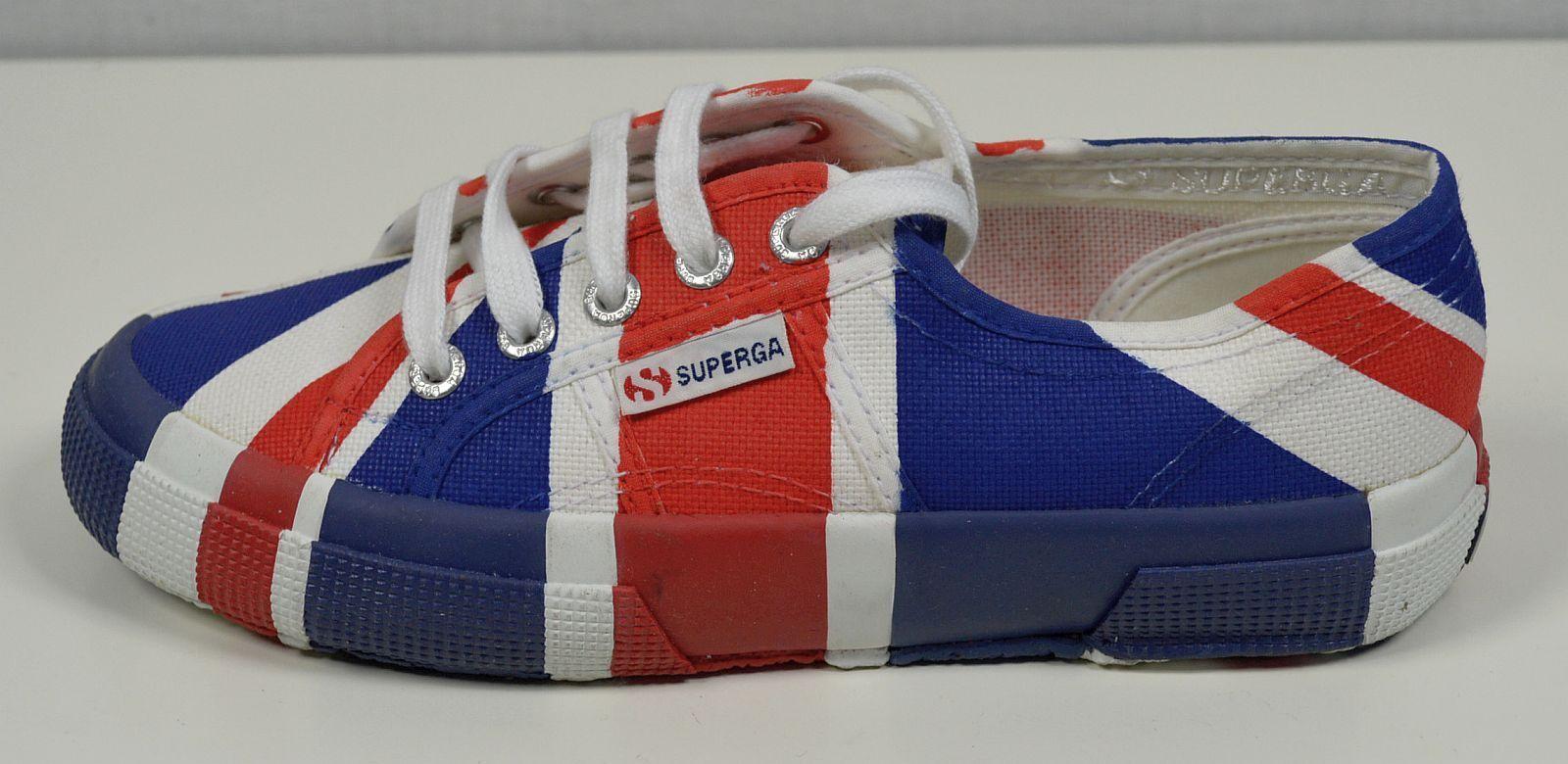 SUPERGA 2750 Cotu Flag United Kingdom Unisex Sneaker EUR 37 schuhe 30121600