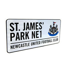 Home United Football Official Fc Lights Linen Newcastle Changing Room Sign